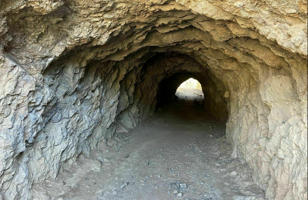 Inside of Bronson Cave