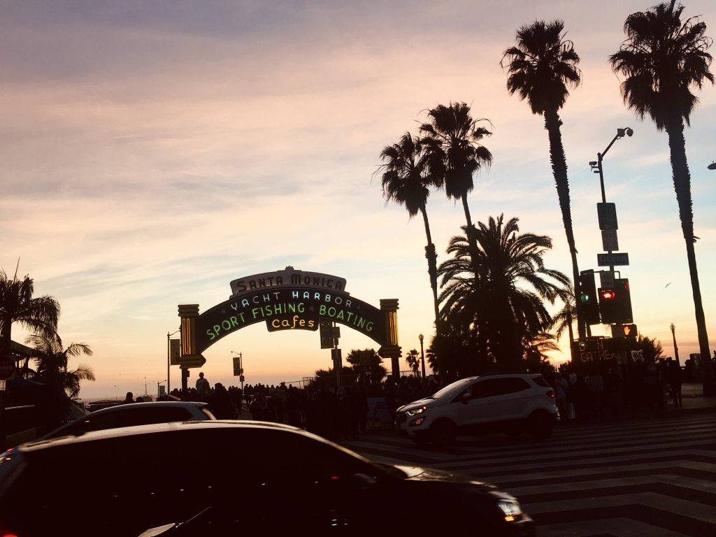 Santa Monica is one of the most walkable cities in Los Angeles
