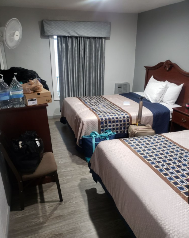 New flooring, clean bed, and cheap pricing hotel