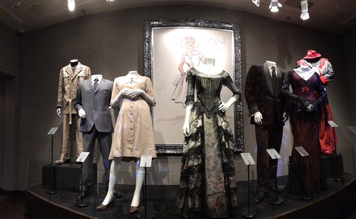 Sightings at Paramount Studio Tour: outfits from famous shows and movies