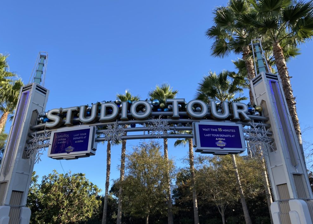 Sightings on Universal Studio's studio tour: the arches
