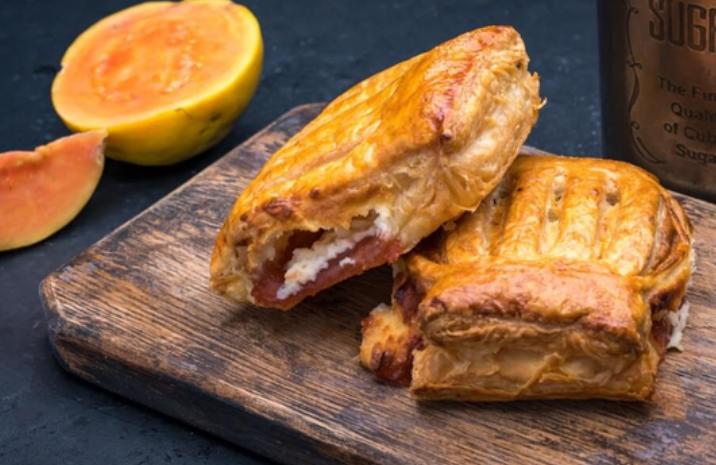 Guava & Cheese Strudel at Porto's Bakery