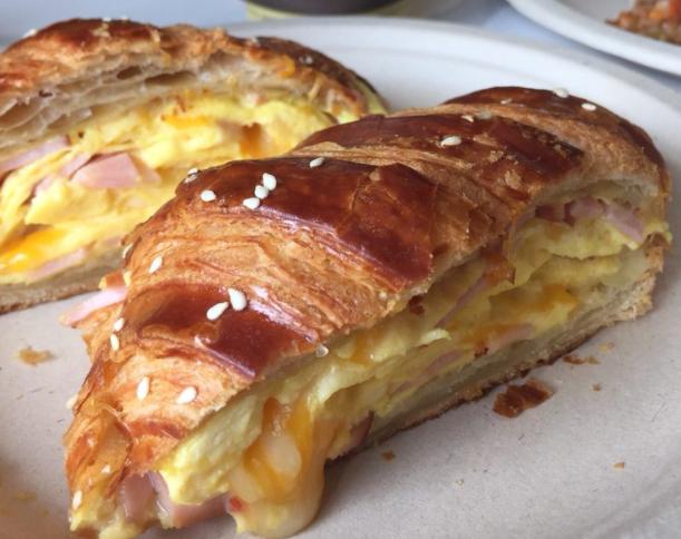 Ham n Cheese sandwich at Porto's Bakery