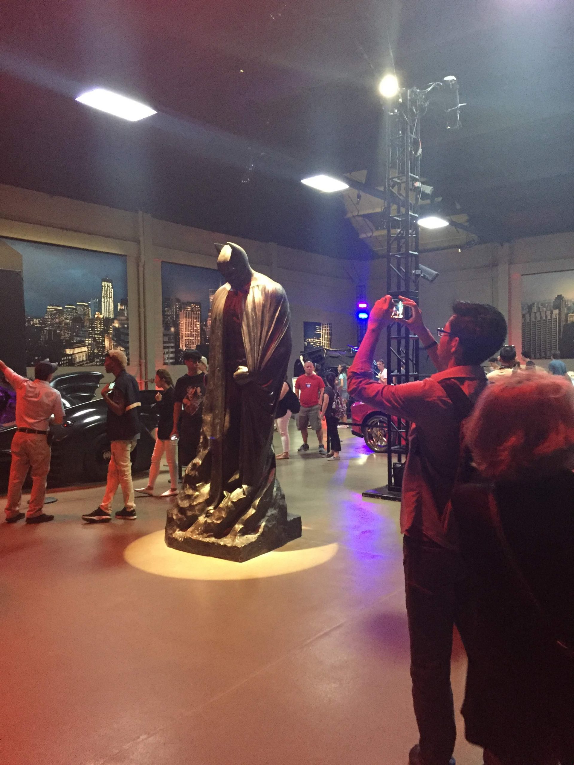 Sightings on the Warner Bros Studio tour: DC Comics exhibit