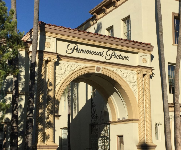 Sightings at Paramount Pictures studio tour: famous Paramount Pictures