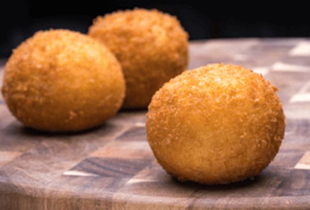 Potato balls at Porto's