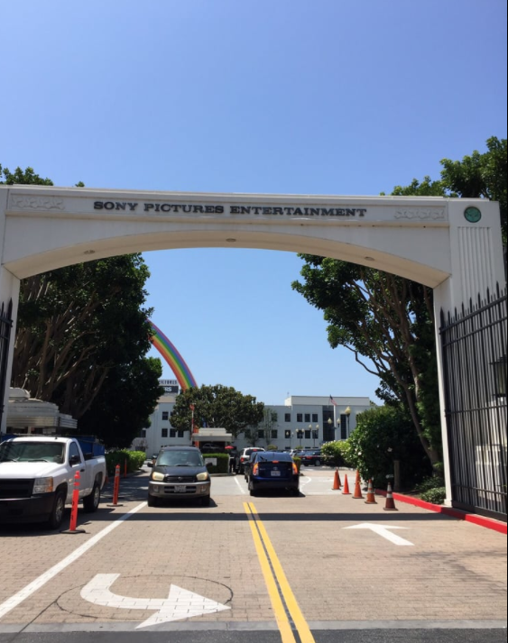 Sightings at Sony Studio tour: Sony Pictures Entertainment arches