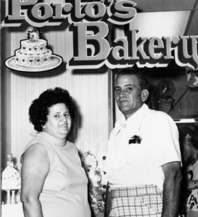 First Porto's Bakery in Echo Park, Los Angeles