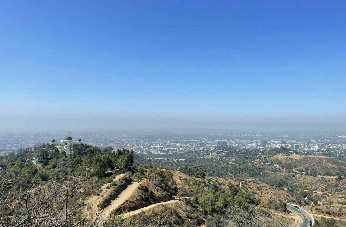 Hike to Glendale Peak at Griffith Park
